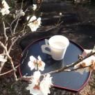 池上梅園と甘酒